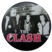 The Clash - 'Group Billboard' Button Badge